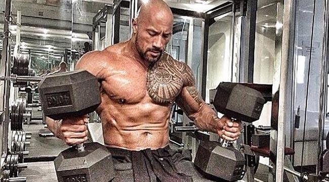 Trainingsplan Dwayne Johnson