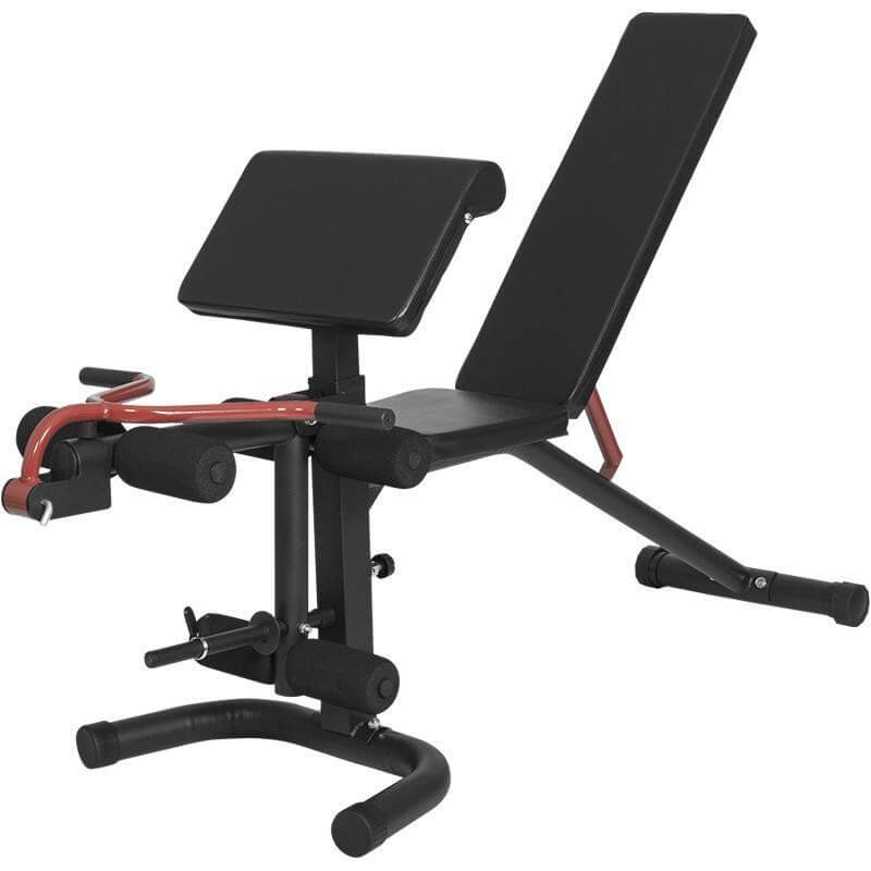 Curlbank mit verstellbarer Rückenlehne - Gorilla Sports