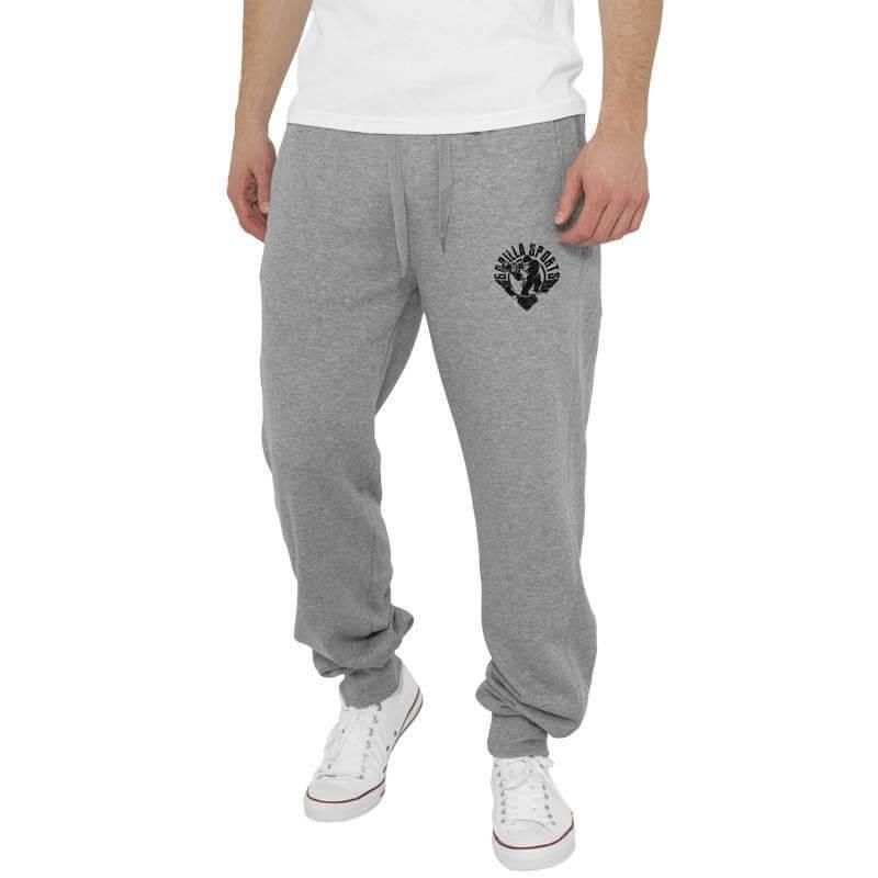 Straight Fit Gorilla Sweatpants grau S-XXL - Gorilla Sports