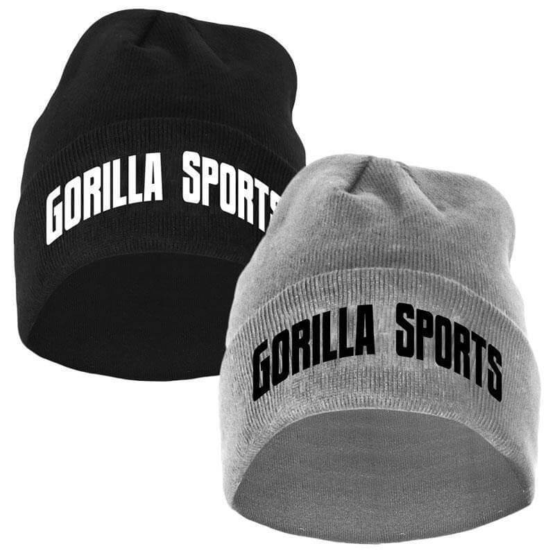 Gorilla Sports Beanie in verschiedenen Farben  - Gorilla Sports