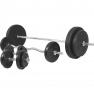 100 KG Kunststoff Komplett - Set - Gorilla Sports