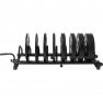Bumper Plates Rack Hantelscheibenständer mit Rollen