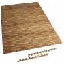 Schutzmatte 8 Endstücke Holzoptik