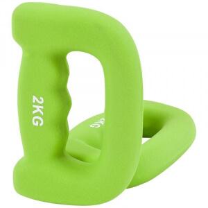 4 KG (2x2KG)Griffhanteln Neopren - Gorilla Sports