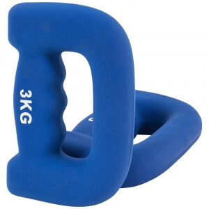 6 KG (2x3KG)Griffhanteln Neopren - Gorilla Sports