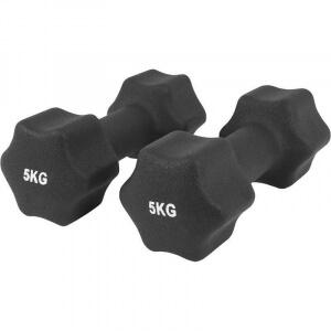 Neopren Gymnastikhanteln 10 KG (2x5 KG) - Gorilla Sports