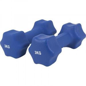 Neopren Gymnastikhanteln 6 KG (2x3 KG) - Gorilla Sports