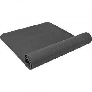 Yoga Fitnessmatte 10 mm schwarz