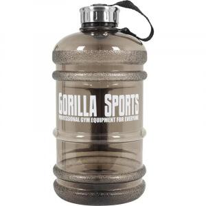 Gallone Wasser Kanister Trinkflasche 2,2 Liter Water Gallon in schwarz