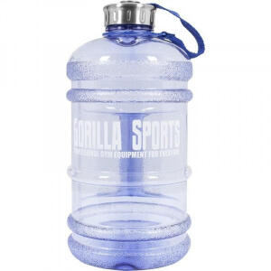 Gallone Wasser Kanister Trinkflasche 2,2 Liter Water Gallon in blau