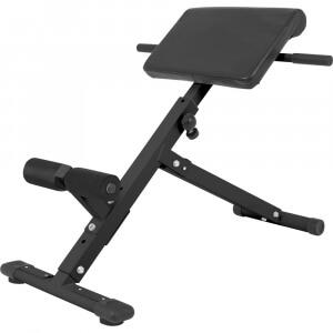 Bauch- / Rückentrainer klappbar schwarz