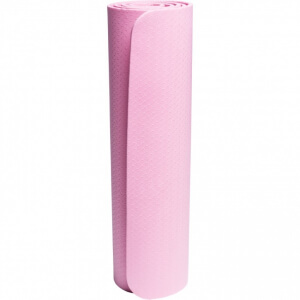 Yoga Fitnessmatte 4 mm Pink