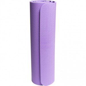 Yoga Fitnessmatte 10 mm Purple