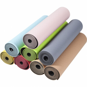 TPE Yogamatte verschiedene Farben